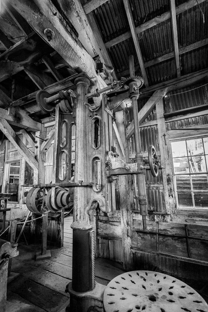 Bodie Ghost Town (B&W)