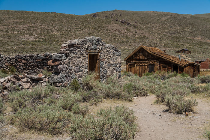 Bodie Ghost Town (color)